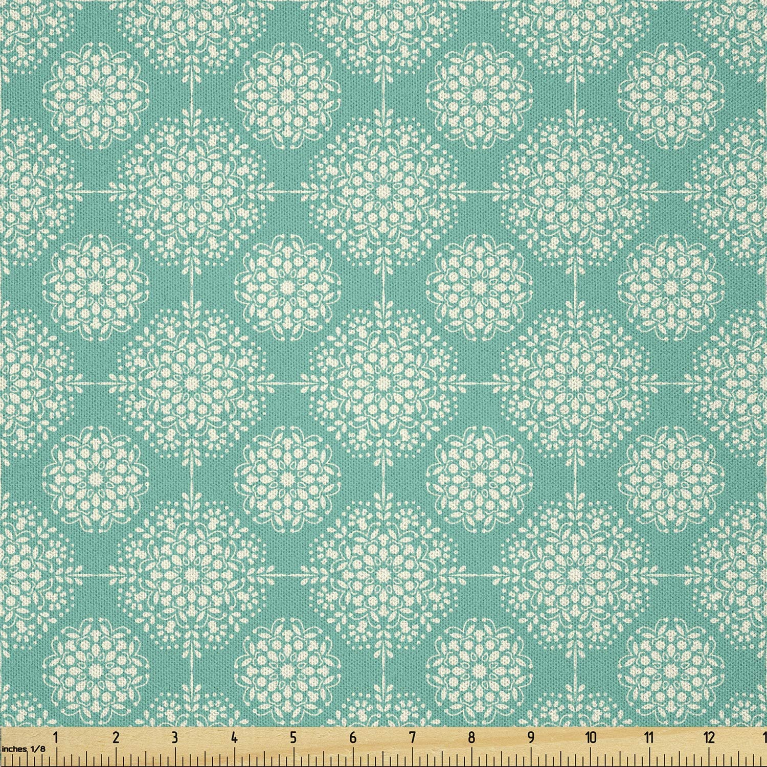 Lunarable Abstract Fabric by The Modern Yard Ranking TOP10 Damask Max 48% OFF Rhyth Style
