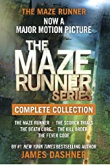 The Maze Runner Series Complete Collection (Maze Runner): The Maze Runner; The Scorch Trials; The Death Cure; The Kill Order; The Fever Code Kindle Edition