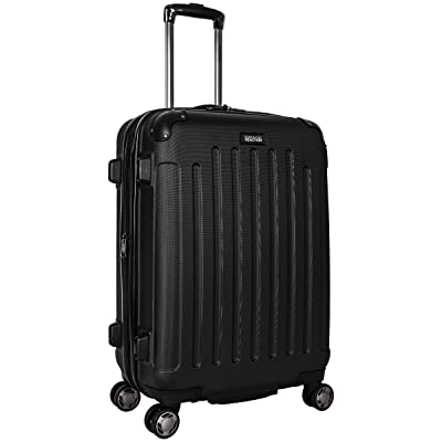 Kenneth Cole Reaction Renegade 24 Expandable 8-Wheel Upright (Black) Luggage