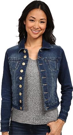 Jag Jeans Petite - Petite Savannah Jacket in Forever Blue Knit Denim