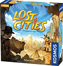 Thames & Kosmos Lost Cities The Card Game