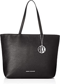 A|X Armani Exchange Zip Top Shoulder Bag, Nero-Black 54