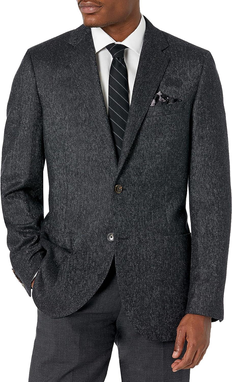 Amazon Brand - Buttoned Down Men's Classic-Fit Italian Wool Herringbone Sport Coat