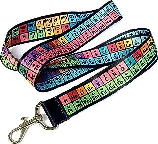 Rainbow Lanyard, Periodic Table of Elements Chemistry