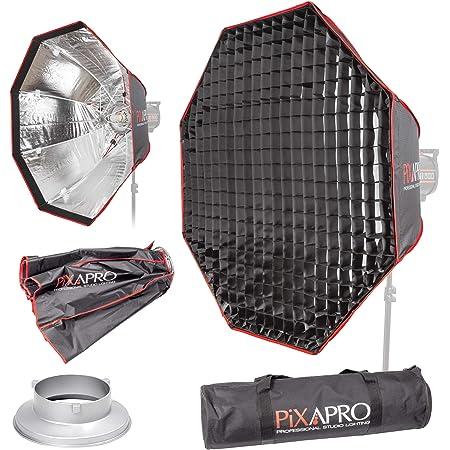 Pixapro 90cm 35 4 Studio Blitz Flash Achteckige Kamera
