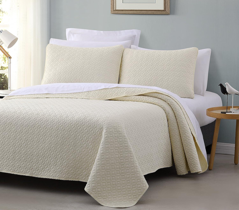 Full//Queen Cozy Beddings Titan Ivory