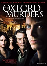 Best the oxford murders movie Reviews