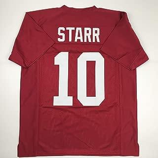 Unsigned Bart Starr Alabama Crimson College Custom Stitched Football Jersey Size Men's XL New No Brands/Logos