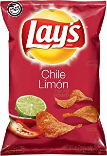 Lay's Chile Limón Flavored Potato Chips, 7.75 Ounce