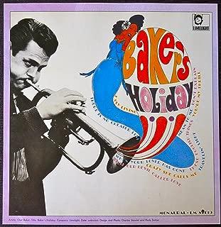 Chet Baker - Baker's Holiday - Vintage Album Cover Poster
