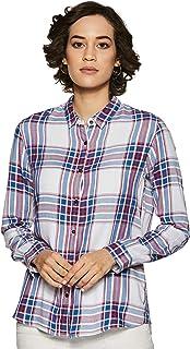 Lee Women's Checkered Regular fit Shirt