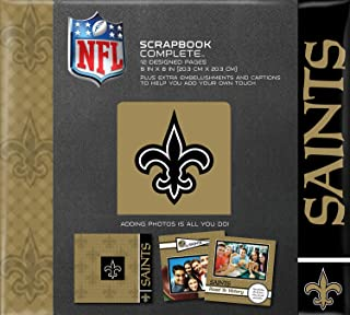 C.R. Gibson Scrapbook Complete Kit, Small, New Orleans Saints (N878556M)