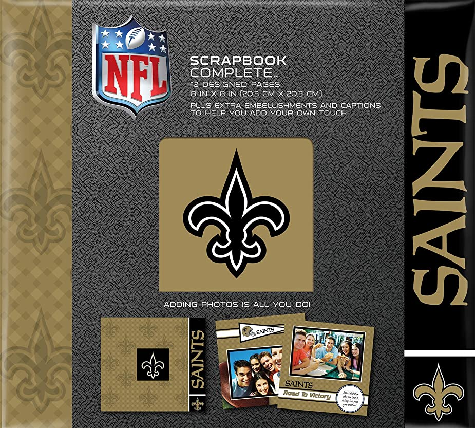 C.R. Gibson Scrapbook Complete Kit, Small, New Orleans Saints (N878556M) hjjrsw8864111