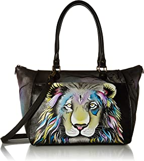 Best Anna by Anuschka Tote Bag   Genuine Leather   Large, Lion Pride Review