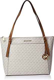 Michael Kors Tote Bag for Women- Monogram/Vanilla