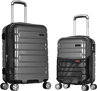 Nema 2-Piece Pc Hardcase Carry-on Set W/TSA Lock