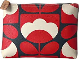 Orla Kiely Spring Bloom Vinyl Luggage Large Pouch