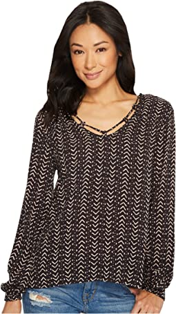 Billabong - Winding Roads Woven Top