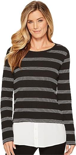 Calvin Klein - Texture Stripe Twofer