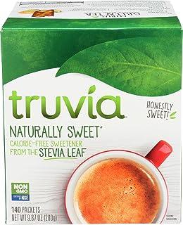 Truvia, Sweetener Natural No Calorie Non-GMO, 0.2 Gram , 140 Pack