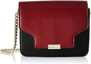 Van Heusen Spring-Summer 2019 Women's Sling Bag (Burgundy/Black)