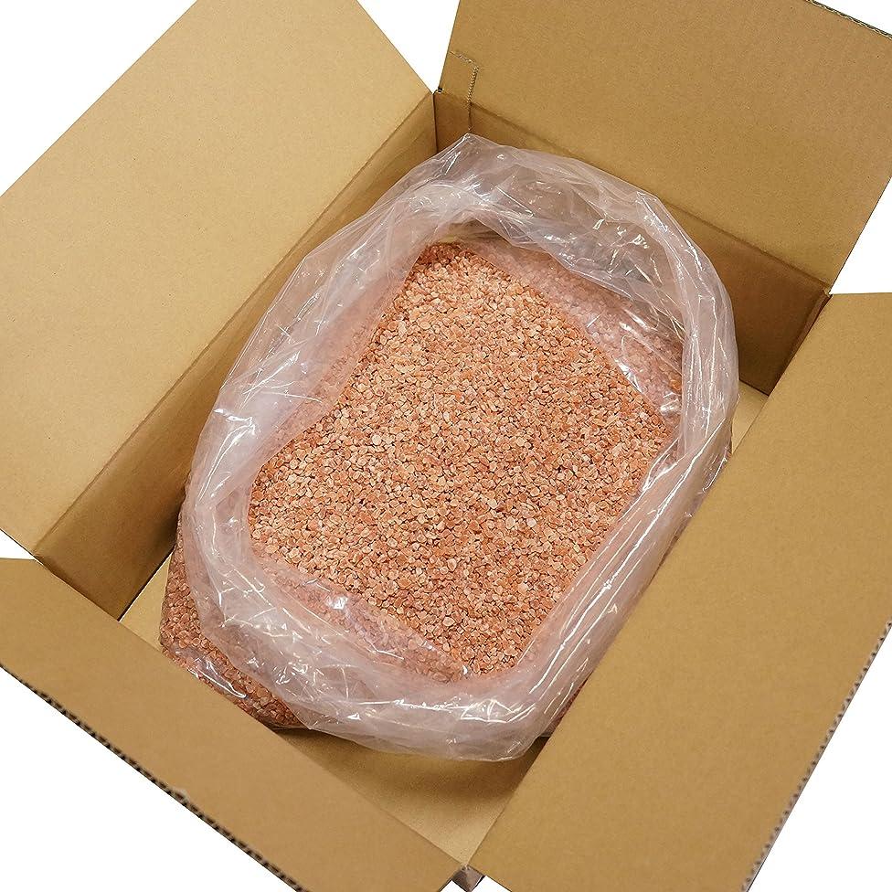 怒り以来ディスコヒマラヤ 岩塩 ピンク グレイン 粒タイプ 業務用 原料 (10kg)