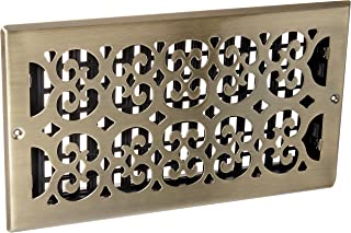 antique metal grate