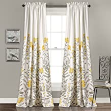 Floral Blackout Curtain Pairs