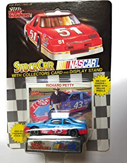 1991 NASCAR Racing Champions . . . Richard Petty #43 STP 1/64 Diecast . . . Includes Collectors Card and Display Stand