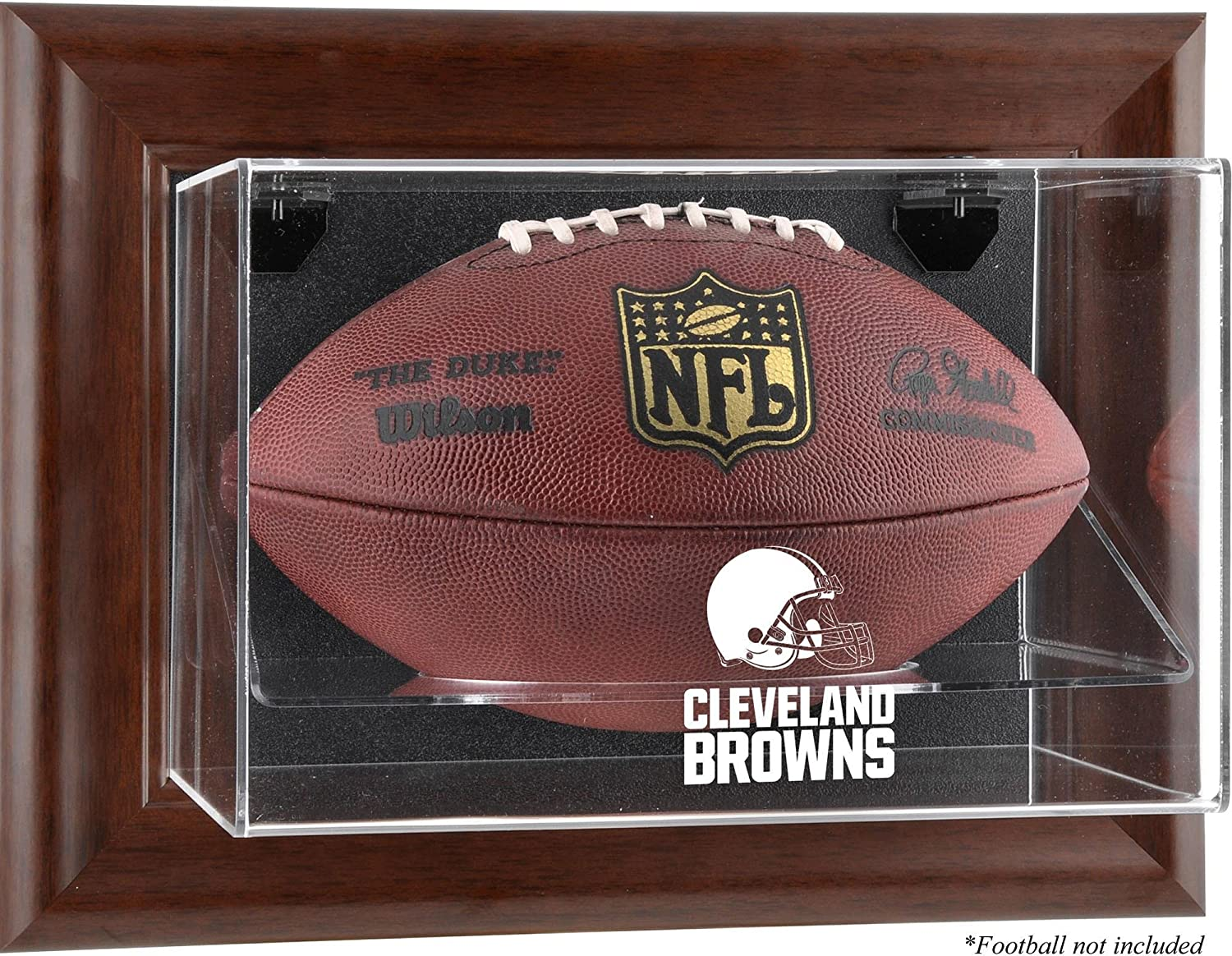 free shipping Cleveland Browns San Diego Mall Football Display Case - D Logo Brown