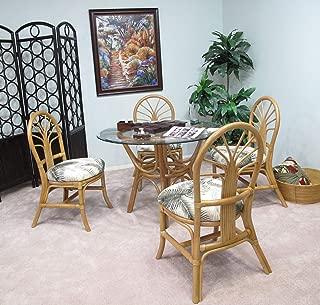 kingrattan.com Rattan Dining Room Furniture 5 Piece Set (#2401H-MN)