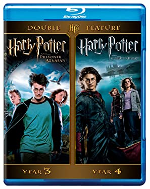 Harry Potter Double Feature: Harry Potter and the Prisoner of Azkaban/Harry Potter and the Goblet of Fire [Blu-ray]