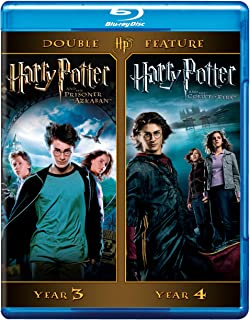 Harry Potter Double Feature: (Harry Potter and the Prisoner of Azkaban / Harry Potter and the Goblet of Fire)