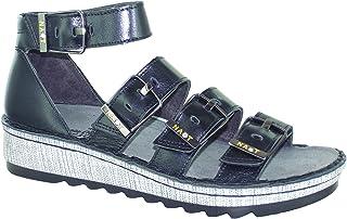 Naot Footwear Women's Begonia Fashion Sandals, Black (Black Madras), 39 EU