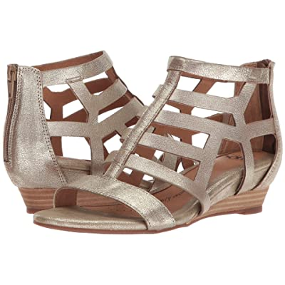 Sofft Ravello (Satin Gold Grid Metallic) Women