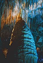 Temple of the Sun, 13x19 inch fine art print, Giant Stalagmite, Carlsbad Caverns NP, landscape photo, nature photography, wall art, home decor, office decor, signed by the artist.