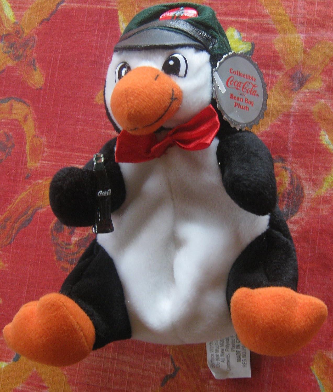 Collectible Coca-Cola Bean Bag Plush -Penguin Style  0108