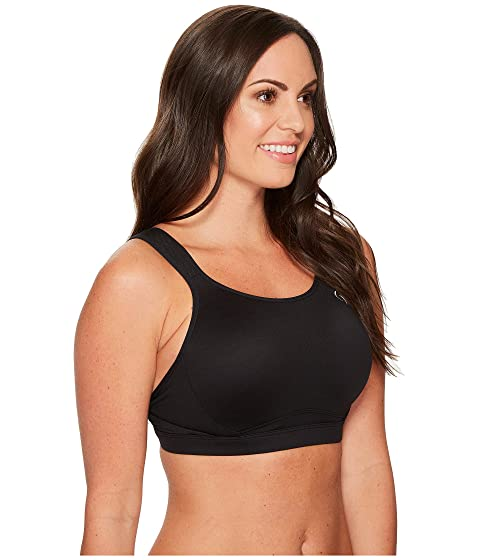 Outlet View Cheap Sale Professional Brooks Maia Back-Adjustable Medium-Impact Sports Bra (C-E) | Moving Comfort Black Cheap Countdown Package YRIZhyp