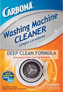 Delta Carbona Deep Clean Formula Washing Machine Cleaner, 10.58 Ounce