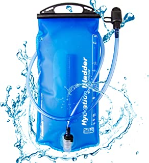 TRIWONDER Bolsa de Agua Soft Flask 2L Vejiga de Hidratación Deportivas sin BPA para Mochila de Hidratación para Correr Cic...