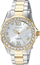 Invicta Women's Pro Diver Quartz Watch with Stainless-Steel Strap, Two Tone, 0.67 (Model: 20215)