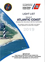 New USCG Light List II 2019: Atlantic Coast Shrewsbury River, New Jersey to Little River, South Carolina