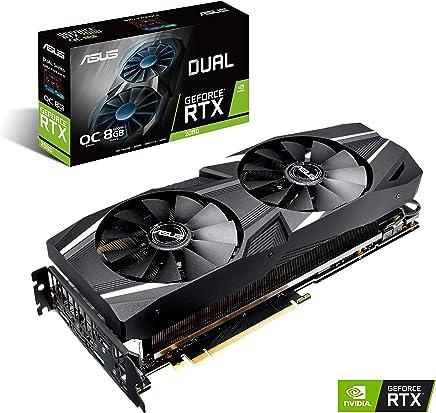 ASUS GeForce® RTX 2080 O8G Dual-fan OC Edition GDDR6 HDMI DP 1.4 USB Type-C graphics card (DUAL-RTX2080-O8G )