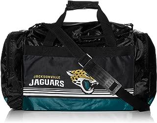 Jacksonville Jaguars Medium Striped Core Duffle Bag