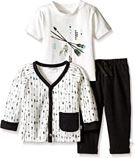 Rosie Pope Baby Boys'' 3 Piece Pant, Shirt and Cardigan Set