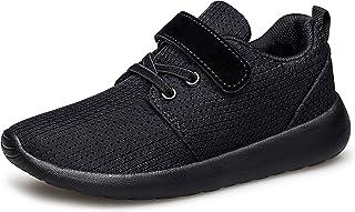 Boys Girls Sneakers Kids Lightweight Breathable Strap...