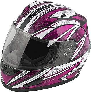 Raider Octane Women's Full Face Helmet (Pink, Small)