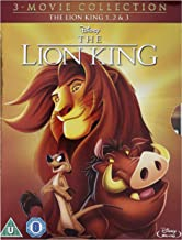 The Lion King 1-3 1994 Region Free