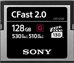 Sony CAT-G128 128GB High Performance CFast G Series 2.0 Memory Card