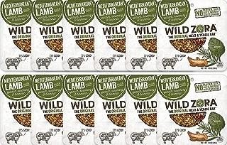 Wild Zora - Mediterranean Lamb - Meat and Veggie Bars (12-pack)